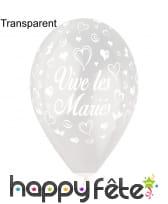 Ballons vive les mariés, image 9