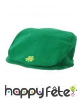Béret vert Saint Patrick