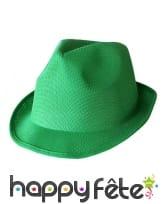 Borsalino vert uni