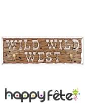 Banderole Wild Wild West de 150cm
