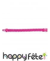 Bracelet zip fluo pour adulte, image 1