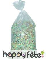 Confettis 10 kg multicolores luxe