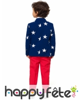 Costume 3 pièces Amérique pour enfant, image 1