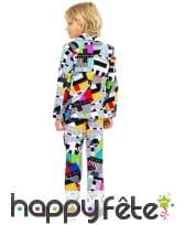 Costume 3 pièces de Mr Technicolor pour enfant, image 1