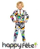 Costume 3 pièces de Mr Technicolor pour enfant
