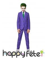 Costume 3 pièces du Joker pour enfant