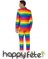 Costume 3 pièces gaypride pour homme, image 1