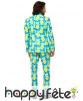 Costume 3 pièces motif ananas, pour homme, image 1