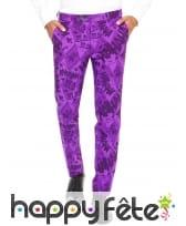 Costume 3 pièces violet du Joker, image 1