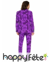 Costume 3 pièces violet du Joker, image 2