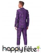 Costume 3 pièces violet imprimé tigre, image 1
