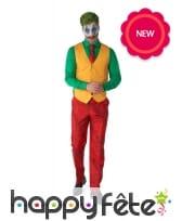 Costume 4 pièces du Joker pour adulte, image 2