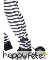 Chaine avec boulet de prisonnier, image 1