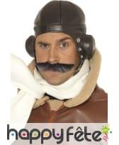 Chapeau aviateur brun