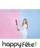 Canon à confettis baby shower, garcon ou fille, image 3