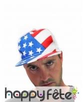 Casquette aux couleurs du drapeau d'Amérique