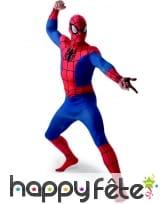 Combinaison adulte de Spider-Man avec cagoule