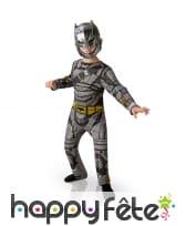 Combinaison armure de batman pour enfant