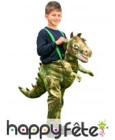 Costume à dos de dinosaure pour enfant