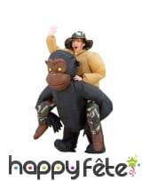 Costume à dos de gorille, image 1