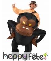Costume à dos de gorille, image 2