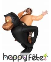 Costume à dos de gorille, image 3