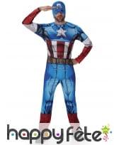 Costume adulte du Captain America