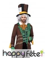 Costume adulte du chapelier fou, image 1