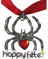 Collier avec pendentif araignée, image 2