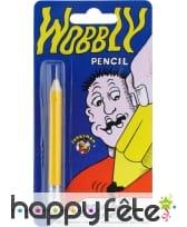 Crayon à pointe molle
