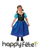 Costume anna reine des neiges pour enfant, image 1