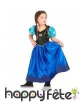 Costume anna reine des neiges pour enfant, image 2