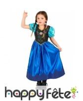 Costume anna reine des neiges pour enfant, image 3