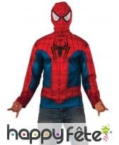 Cagoule avec Sweat Spiderman pour homme