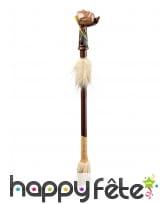 Calumet amérindien style bois de 45cm