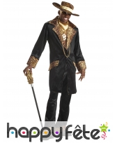 Costume bling bling de Mac col léopard