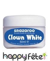 Crème blanche clown, image 1