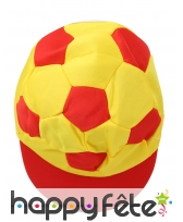 Casquette ballon de foot Espagne, image 1