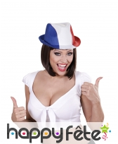 Chapeau borsalino drapeau Français