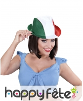 Chapeau borsalino drapeau Italie
