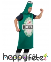 Combinaison bouteille de bière beer pour adulte, image 1