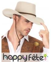 Cowboy beige en suedine, luxe, image 2