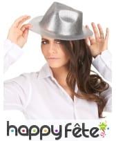 Chapeau borsalino pailleté, image 1