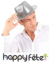 Chapeau borsalino pailleté, image 2