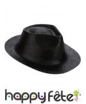 Chapeau borsalino pailleté, image 5