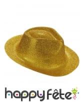Chapeau borsalino pailleté, image 6