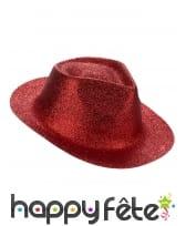 Chapeau borsalino pailleté, image 7