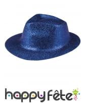 Chapeau borsalino pailleté, image 8