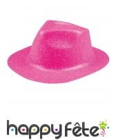 Chapeau borsalino pailleté, image 9