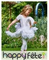 Cygne blanc sur bretelles pour enfant, image 1